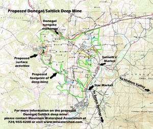 Proposed Donegal/Saltlick Deep Mine