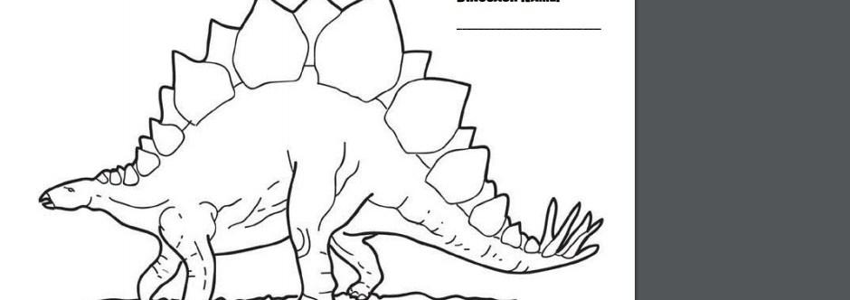 EcoSaurus Coloring Contest