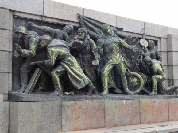 The Monument of the Soviet Army