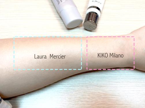 201608_Kiko Laura Mercier Testing4