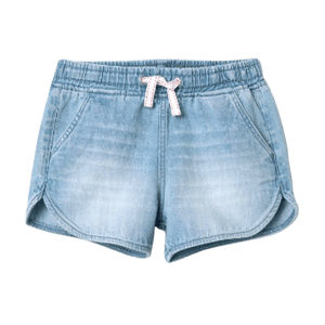 Girl's Tencel Elasticated Shorts