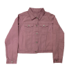 Girl's Twill Crop Jacket