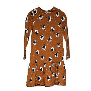 Girl's Printed Knitted Dress