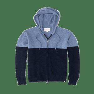 Men's Combo Fleece Full Zip Hoodie