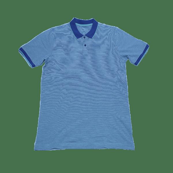 Men's Slim Fit Striped Polo