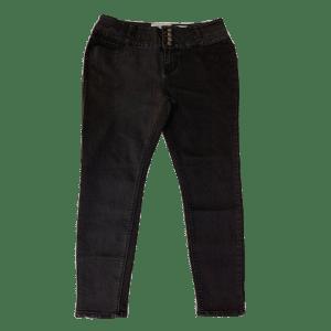 Women's 5 Pockets Denim Long Pant