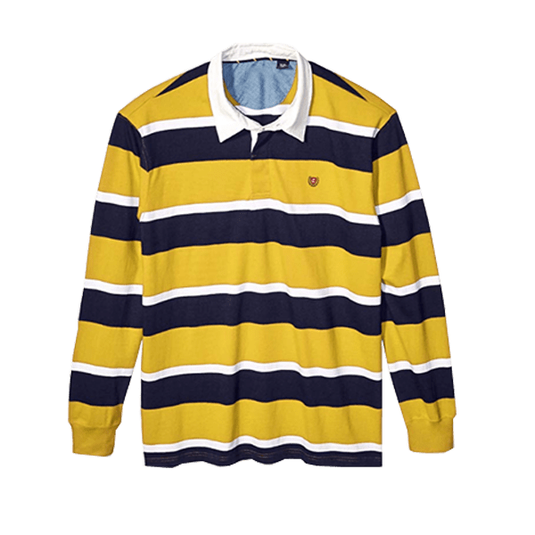Men's Long Sleeve Rugby Shirt