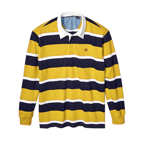 Men's Long Sleeve Rugby Shirt