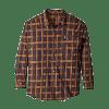 Men's Long Sleeve Welt Zip Pocket Shirt