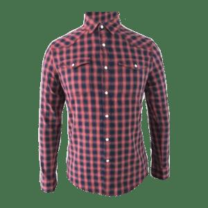 Men's Long Sleeve CVC Western Shirt