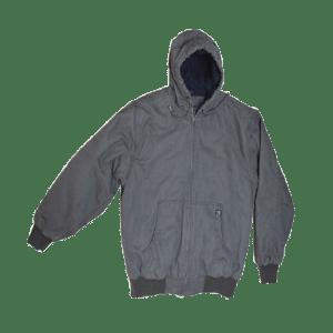 Men's Hoodie Knit Lined Microfiber Jacket