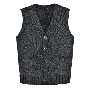 Men's Casual Knit Sweater Vest V-Neck