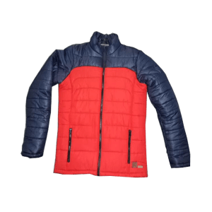 Men's Polyester Quilted Zips Jacket