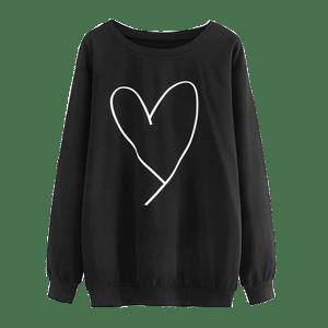 Women's Causal Pullover Sweatshirt