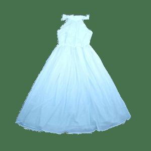 Women's Georgette sleeveless Long Dress