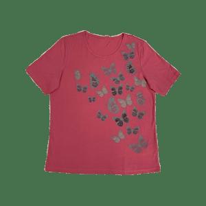 Women's  Butterfly Printed T-Shirt