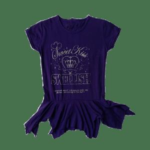 Women's Hem Design T-Shirt