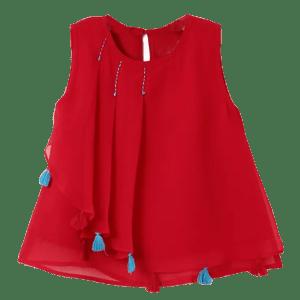Girl's Georgette Dress