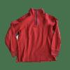 Boy's Quarter Zip Through Fleece Sweat Shirt
