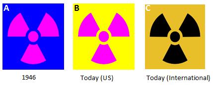 history of the radiation warning symbol nuclear hitchhiker history of the radiation warning symbol