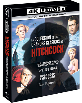 Pack Alfred Hitchcock Classics Collection Ultra HD Blu-ray