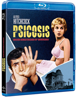 Psicosis - Edición Remasterizada 60º Aniversario Blu-ray