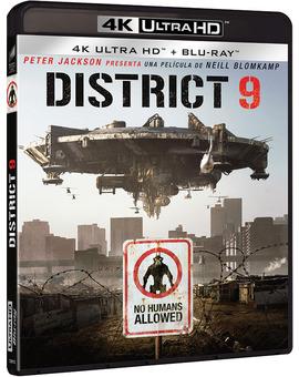 District 9 Ultra HD Blu-ray