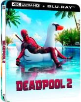 Deadpool 2 - Edición Metálica Lenticular Ultra HD Blu-ray