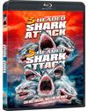 Pack 3-Headed Shark Attack + 5-Headed Shark Attack Blu-ray
