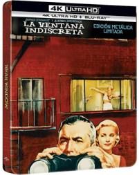 La Ventana Indiscreta - Edición Metálica Ultra HD Blu-ray
