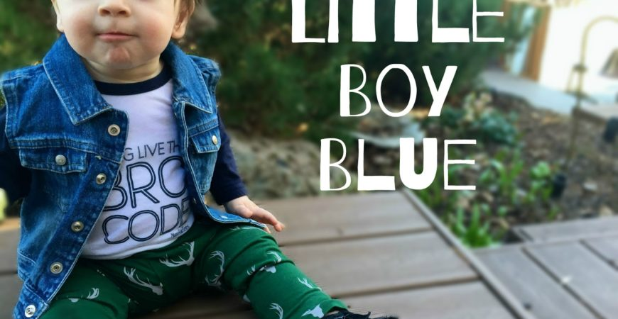 Monday Introductions // Little Boy Blue + A Giveaway!