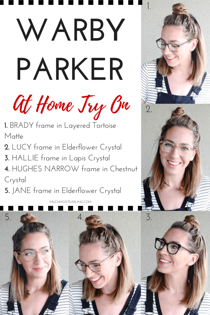 Warby Parker At Home Try On #6