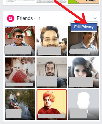 tap edit privacy facebook