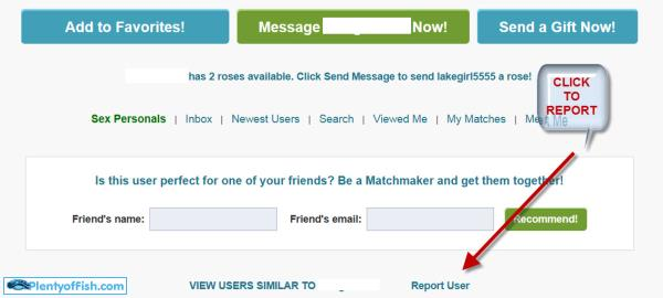 How to Block,Unblock and Report Someone on Plenty of Fish - MuchTech