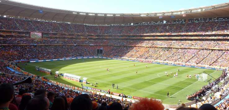 Netherlands v Denmark, World Cup 2010