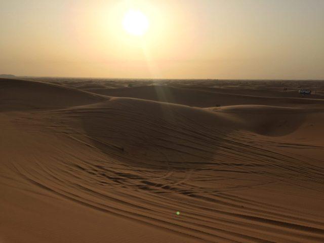 Sunset in the Desert, Dubai
