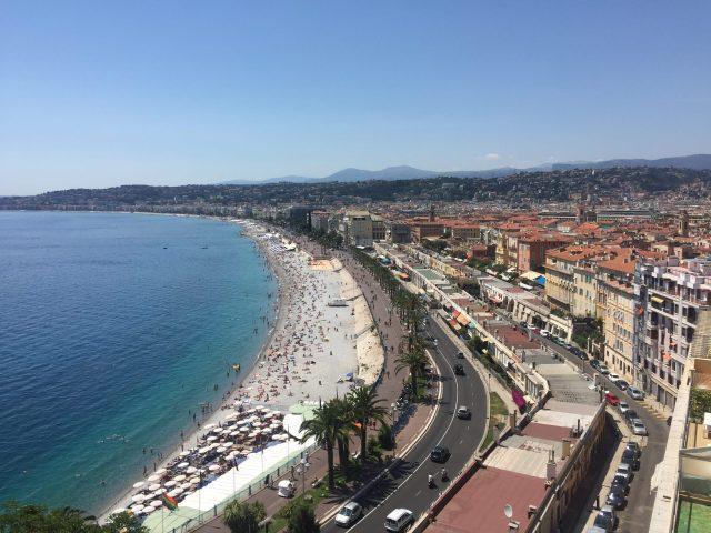 Nice Coastline, France