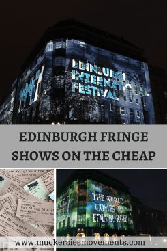 Edinburgh Festival Fringe Shows on the Cheap
