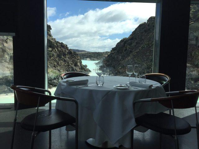 Lava Restaurant, Blue Lagoon