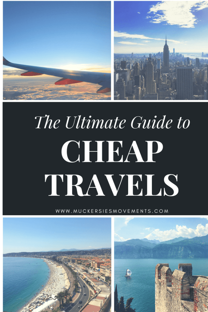 FREE Ultimate Guide to Cheap Travels eBook