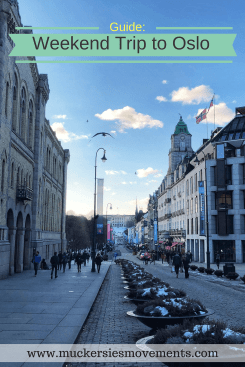 Guide: Weekend Trip to Oslo