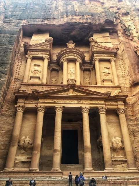 Visiting Petra: The Treasury