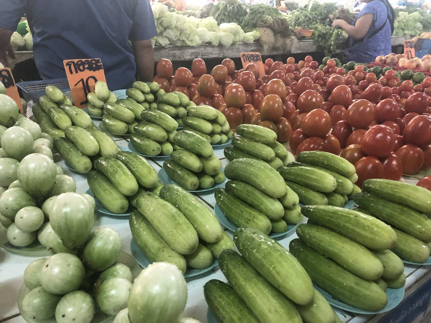Thai Food Market Vegetables