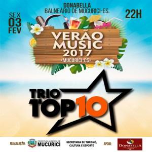 Show 03/02 Verão Music 2017 Mucurici