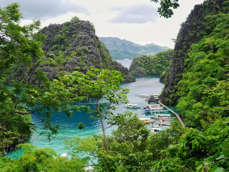 coron filipinas ilha palawan
