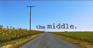 "Screenshot of the title shot for ""The Middle"" TV show."