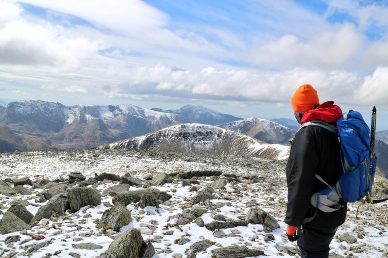 View towards the Glyderau
