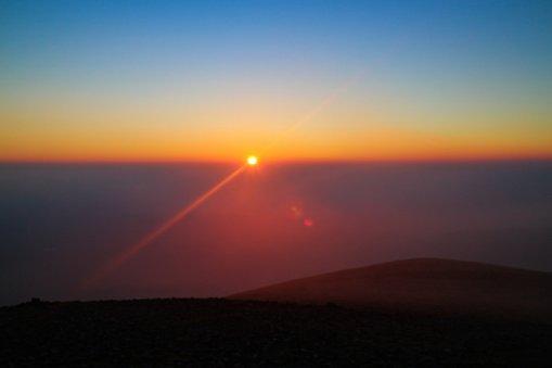 Sunset From Mynydd Mawr