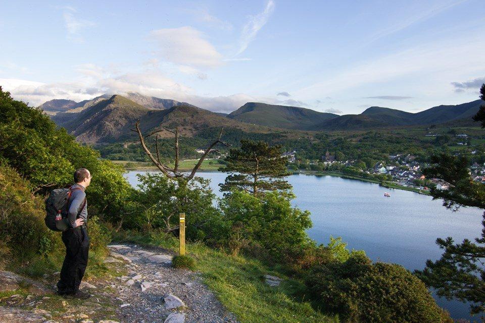 Llyn Padarn Circular Walk from Llanberis