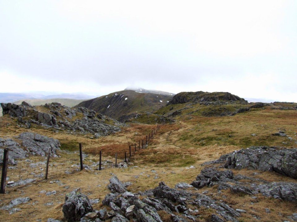 Walking Route up Aran Fawddwy and Benllyn from Llanuwchllyn